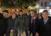 Christkindlmarkt in Regensburg mit Team