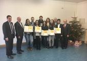 Preis Verleihung für eine der besten Auszubildenden Regensburgs - Ramona!