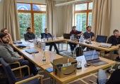 Teambuilding im Birkenhof - spannende Vorträge der Geschäftsleitung ;-)