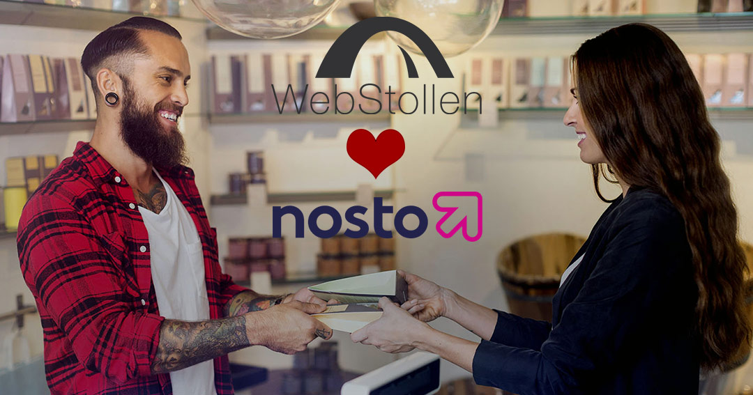WebStollen loves Nosto