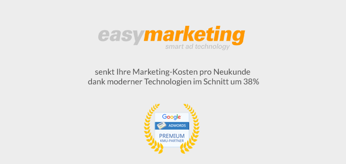 easymarketing gewinnt Google Premier SMB Partner Awards 2015