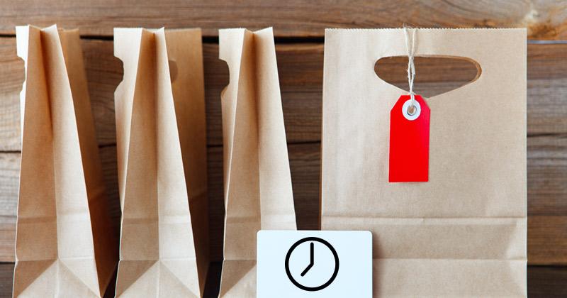 Wann wird eingekauft? Offline vs. Online