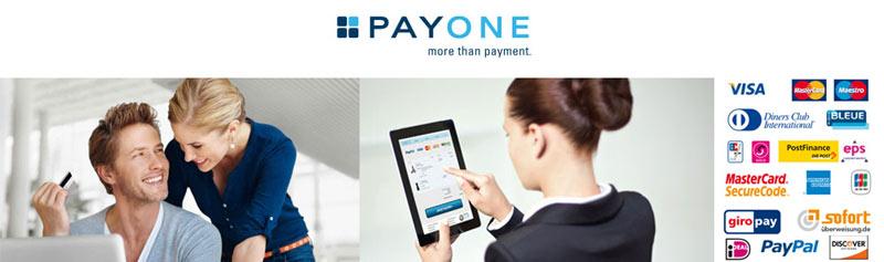 PAYONE hat alle Zahlungsarten