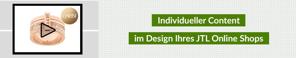 Individueller Content im Design Ihres Shops