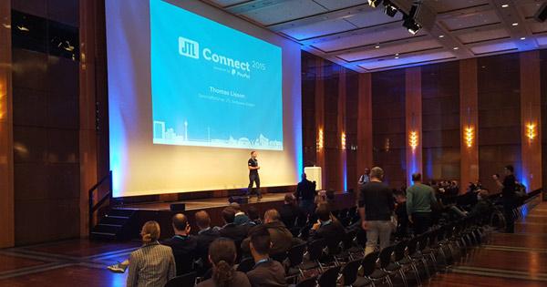 Begrüßung der JTL-Connect durch  Thomas Lisson